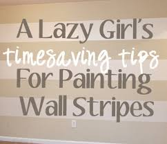 Stripe painted walls Nursery Unskinny Boppy Time Saving Tips For Painting Wall Stripes Stepbystep Tutorial