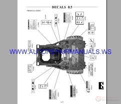 Skid Steer Size Chart Hyundai Skid Steer Loader Hsl800t Service Manual Auto