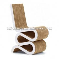 cardboard chair design. Modular Corrugated Cardboard Chair Design