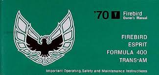 1970 pontiac firebird trans am wiring diagram manual reprint 1970 firebird trans am owner s manual reprint