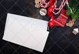 Blank Christmas Background Christmas Background With Blank Paper Photos By Canva