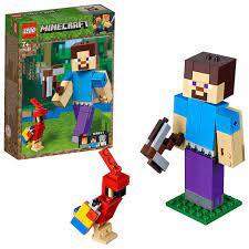 Đồ Chơi Lắp Ráp LEGO Steve Khổng Lồ Và Vẹt 21148