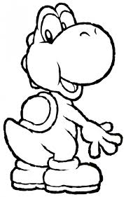 Small Picture Yoshi Coloring Page Coloring Pages Pinterest Yoshi Cricut