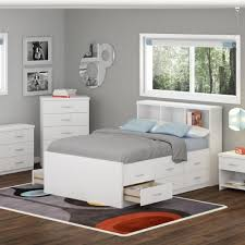 white bedroom furniture sets ikea. Sonax Double Captain\u0027s Storage Bed Set With Bookcase Headboard/Nightstand/Wide Dresser, Frost White Bedroom Furniture Sets Ikea H