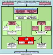 Flow Chart Of Medieval Period Fc63 The Agricultural Revolution In Medieval Europe The