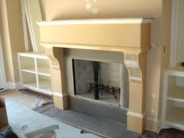 how to make fireplace mantel fireplace