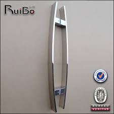 wonderful door high quality sliding glass door handles mirror handlesstainless steel push and pull handle on alibabacom for
