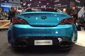 2013 Hyundai Genesis Coupe Jp Edition Sema 2013