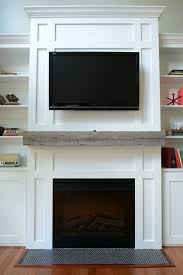 Railroad Tie Mantle how install a barn beam mantel decor and the dog 6730 by xevi.us