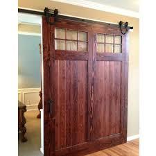 free black antique horseshoe barn single wood sliding doors uk