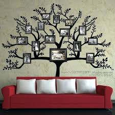 family collage picture frames for wall modern family tree wall decal sticker picture frame tree branch on family picture frame wall art with family collage picture frames for wall modern family tree wall decal