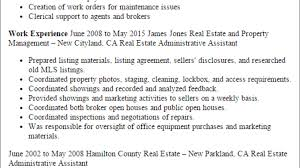 1 Real Estate Administrative Assistant Resume Templates Try
