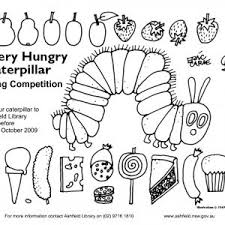 Hungry Caterpillar Butterfly Coloring Page New Petitive Very Hungry