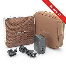 harman kardon speakers. 459-610- harman kardon esquire portable bluetooth wireless speaker speakers e