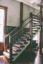 ... Astounding Metal Stair Railings Outdoor Metal Stair Railing Darkbrown  Stairs With Metal Stair Railings