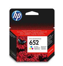 <b>Картридж HP</b> 652, голубой, пурпурный, желтый, для струйного ...