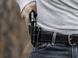 taurus judge steel 2 inch cloak slide owb holster outside the waistband