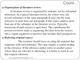 What Is the Literature   How to Write a Literature Review     SlidePlayer