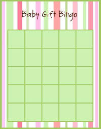 Baby Shower BINGO Game Printable Girl Hot And Pale Pink AndBaby Shower Bingo Cards Printable