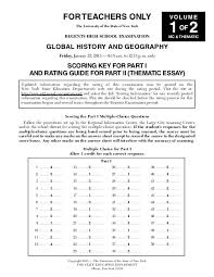 global history thematic essay part ii thematic essay pages 1 32 regents exams
