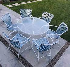 vintage patio furniture brown jordan