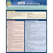 Apamla Guidelines Bar Chart Study Guide