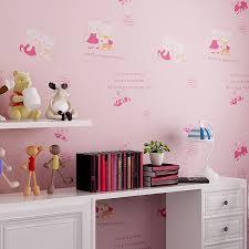 Kids Bedroom Wallpapers Aliexpresscom Buy 2016 New Arrival Cute Hello Kitty Wallpaper