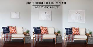 howtochoosetherightartforyourspace on wall art sizes with how to choose art that is the right size for your space jones