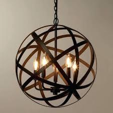 brass pendant lamp orb by light uk