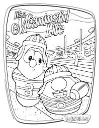 34 Veggie Tales Coloring Pages Cartoons printable coloring pages ...