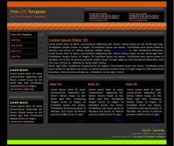 clan website template dark two column css clan two column clan website template business website template