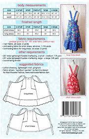 Apron Dress Pattern Impressive Apron Pattern Hemma Design Anya Apron Dress Shibori Dragon