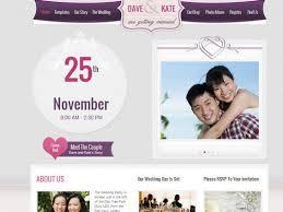 Free Wedding Website Templates Amazing 24 Best Wedding Website Templates CSSHTML WordPress Ginva