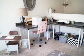 Counter Top Desks Diy Desk For A Craft Space Page 2 Of 2 Atkinson Drive