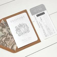 16 best save the dates images on pinterest passport, save the Wedding Invitations On The High Street 'around the world' passport wedding invitation wedding invitations not on the high street