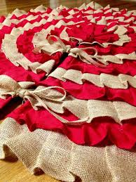 Top 25 DIY Christmas Tree Skirts - Christmas Celebrations