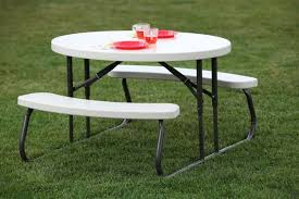 image of round folding table costco