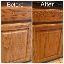 Water Damage Under Kitchen Sink Repaired And Refinished Yelp
