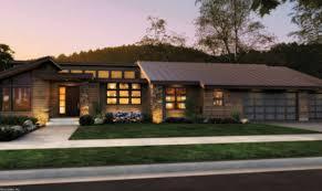 modern smart homes, modern mini homes, small single story ranch homes,  modern custom