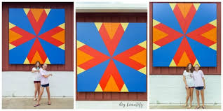 Barn Quilt Patterns Classy How To Make A DIY Barn Quilt DIY Beautify