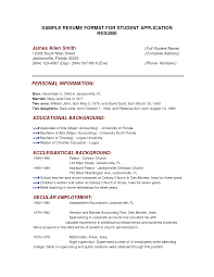 resume educational background cipanewsletter cover letter how to write a college resume for college