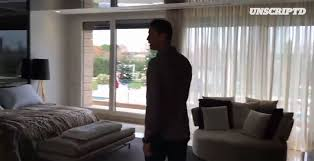 Cristiano Ronaldo House Bedroom Interior Madrid Spain