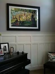 sarah pinyan pos this textured wainscoting with black chair rail and trim to her walls stash postboard via the juxtapost bookmarklet