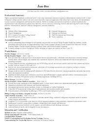 Practice Director Job Description Account Manager Key Job Description Image Resume Sample Monster Com 11