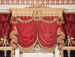 carved curtain pelmets