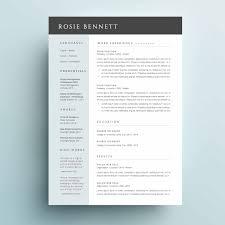 One Page Resume Templates Modern Ori 1438 73098ac82b263a9708d44f871decd16d024195da 2 Page
