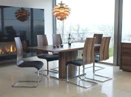 walnut dining room table and chairs 6451 round trend 14 with additional