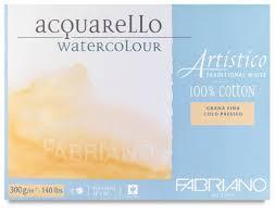 Review: Fabriano Artistico Coldpress Watercolour Paper (300GSM ...