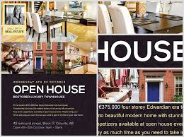 realtor open house flyers open house flyer template flyerheroes