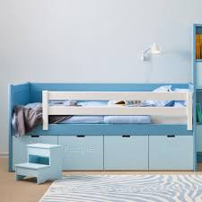 kids cabin bed with  drawers  ladder  childrens beds  cuckooland